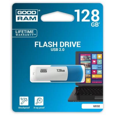Pendrive GoodRAM 128GB UCO2 MIX USB 2.0 - retail blister