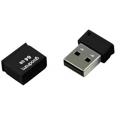 Pendrive Goodram UPI2 64GB USB MINI 2.0 blk - retail blister