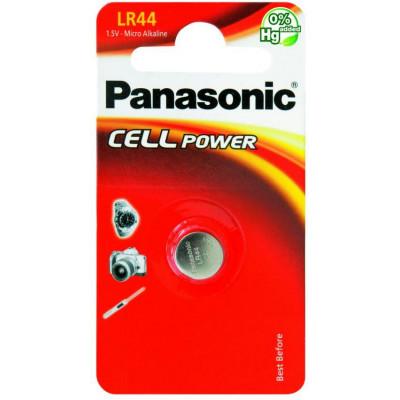 PAST. PAN. LR44 1x 1,5v PANASONIC 12pz - blister