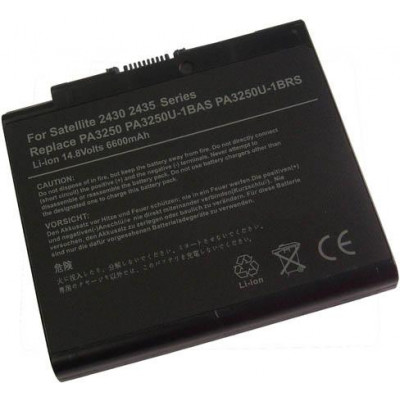 Batteria Toshiba Satellite 2430 2435 A30 A35 S2430 -6600 mAh