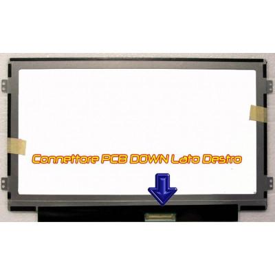 10.1 B101AW06 M101NWT4 WSVGA Display LED glossy SLIM