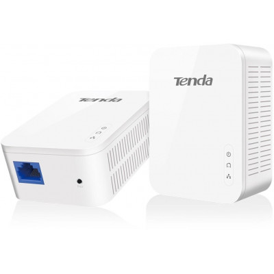 Tenda PH3 Powerline Kit 2 Adapter Up to 1Gbps + 1LAN 1GBbps