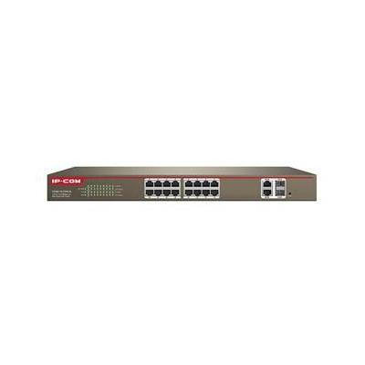 Switch managed 16 porte 100M+2 port Gigabit TP/SFP Combo PoE