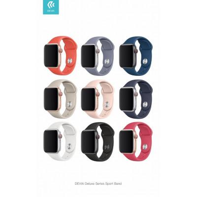 Cinturino Apple Watch 4 serie 44mm Delux Sport Midnight Blue