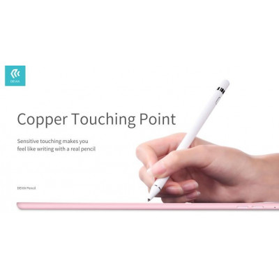 Penna Capacitiva Devia Pencil ceramica per Android Apple Mic