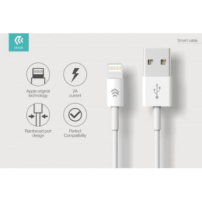 Cavo Dati e Carica Lightning iPhone e iPad IOS 8  Bianco